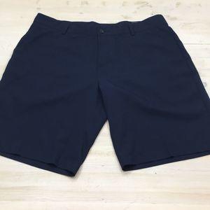 Adidas athletic quick dry golf shorts sz 38